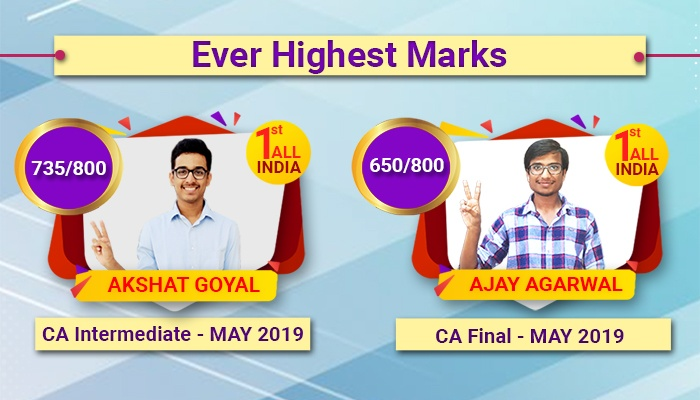 CA Ever Highest Toppers